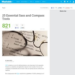 25 Essential Sass and Compass Tools
