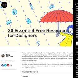 30 Essential Free Resources for Designers Shillington
