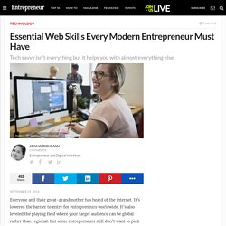 Essential Web Skills Every Modern Entrepreneur Must Have