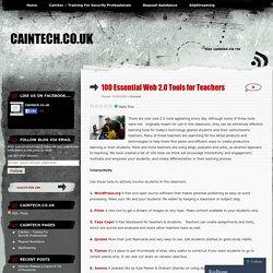 100 Essential Web 2.0 Tools for Teachers