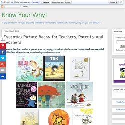 Essential Picture Books for Teachers, Parents, and Learners
