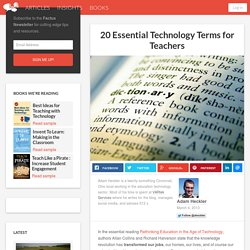 20 Essential Technology Terms for Teachers