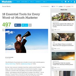 18 Essential Tools for Every Word-of-Mouth Marketer - Flock