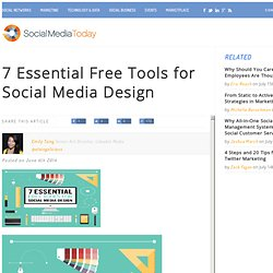 7 Essential Free Tools for Social Media Design