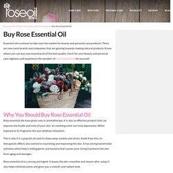 Buy Rose Essential Oil for the Ultimate Beauty Routine – Rose Oil Review