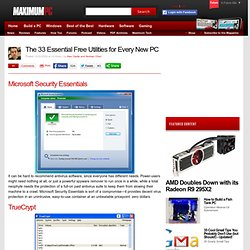 The 33 Essential Free Utilities for Every New PC - Page 3