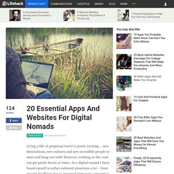 20 Essential Apps And Websites For Digital Nomads