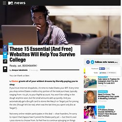 These 15 Essential (And Free) Websites Will Help You Survive College