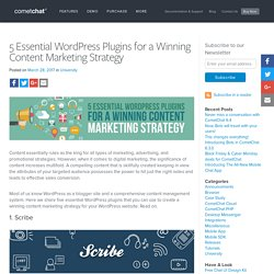 5 Essential WordPress Plugins for a Winning Content Marketing Strategy - Blog
