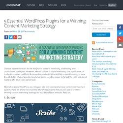 5 Essential WordPress Plugins for a Winning Content Marketing Strategy - Blog