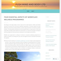 Why London based corporate firms are emphasizing on Corporate Wellness?