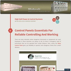 Control Panels Essentials For Reliable Controlling And Working