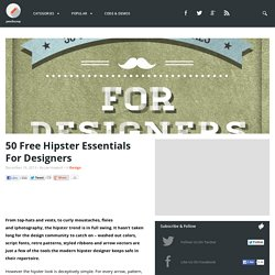 50 Free Hipster Essentials For Designers