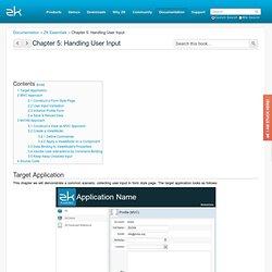 ZK - ZK Essentials/Chapter 5: Handling User Input - Documentation