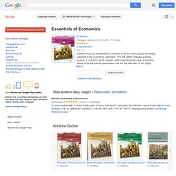 Essentials of Economics - Google Bücher