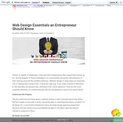 Web Design Essentials an Entrepreneur Should Know - Carmatec Qatar WLL