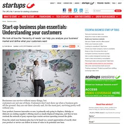 Start-up business plan essentials: Understanding your customers