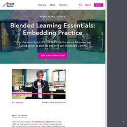 Blended Learning Essentials: Embedding Practice - University of Leeds