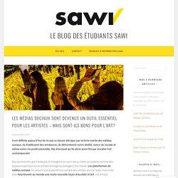 Les médias sociaux sont devenus un outil essentiel pour les artistes – mais sont-ils bons pour l'art? – Le blog des étudiants SAWI