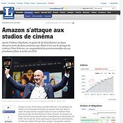 Amazon s attaque aux studios de cinéma