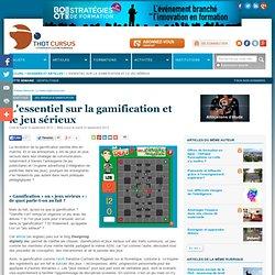 L'essentiel sur la gamification et le jeu sérieux