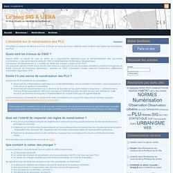 L'essentiel sur la numérisation des PLU » Le blog SIG