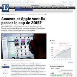 Amazon et Apple vont-ils passer le cap de 2015?