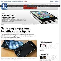 Samsung gagne une bataille contre Apple