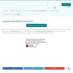 Le guide essentiel de la Transition – Réseau Transition.be