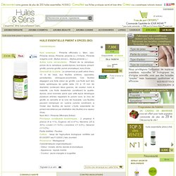 huile essentielle de piment 4 épices (bio)