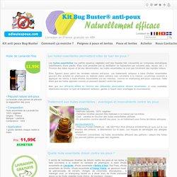 Huile essentielle anti-poux : Traitement contre les poux et les lentes
