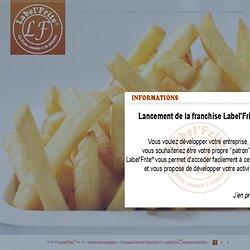 Label'Frite - Fournisseur de Frites Fraîches - Essentiellement aux Professionnels
