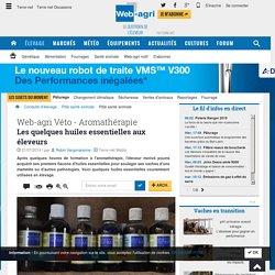 Huiles essentielles en élevage bovin - Web-agri Véto aromathérapie mammites