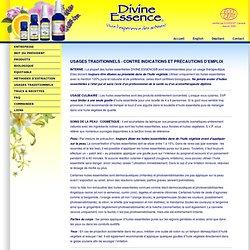 DIVINE ESSENCE CERTIFIED ORGANIC ESSENTIAL OILS / HUILES ESSENTIELLES CERTIFIÉES BIOLOGIQUES - UNION NATURE