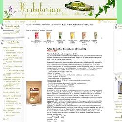 Pulpe de fruit du Baobab, cru et bio, 250g : vente de plantes médicinales et huiles essentielles bio, produits d'herboristerie, alimentation bio