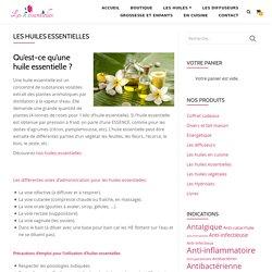 huiles essentielles - huile essentielle - leshessentielles.be