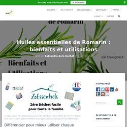 Huiles essentielles de Romarin : bienfaits et utilisations
