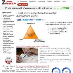 Les 3 points essentiels d'un contrat d'assurance crédit
