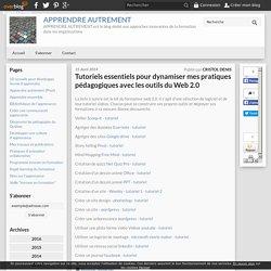 Tuto essentiels pr dynamiser pratiques pédagogiques avec outils Web 2.0