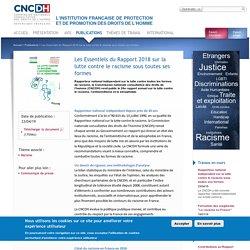 CNCDH - Les Essentiels du Rapport 2018