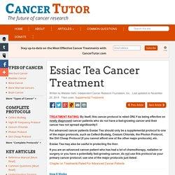 Essiac Tea Cancer Treatment
