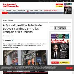 A EssilorLuxottica, la lutte de pouvoir continue entre les Français et les Italiens