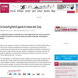 Le Conseil général appuie le réseau des Scop