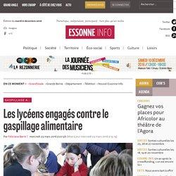 ESSONNE INFO 23/03/16 Les lycéens engagés contre le gaspillage alimentaire