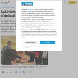 Essonne : les élèves de sixième dotés d'ordinateurs portables