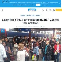 Essonne : à bout, une usagère du RER C lance une pétition - Le Parisien