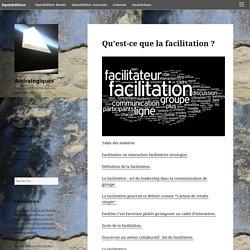 Qu'est-ce que la facilitation? – Andralogiques