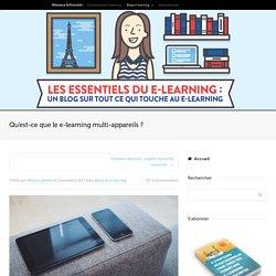 Qu'est-ce que le e-learning multi-appareils ?