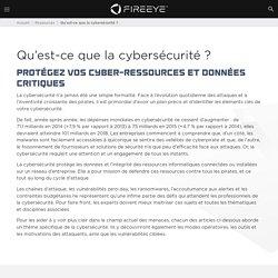 Qu'est-ce que la cybersécurité?