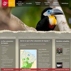 Qu'est ce que le Parc amazonien de Guyane ?